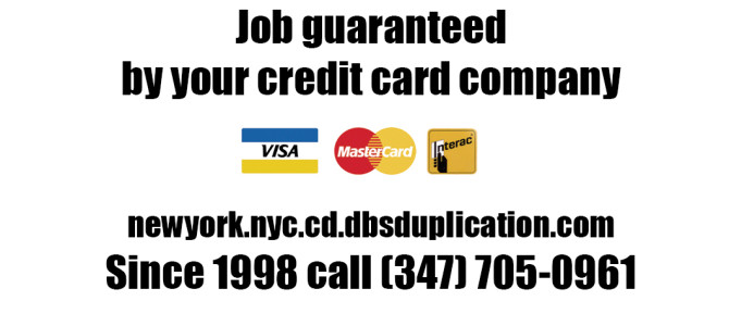 Job guaranteed by your credit card company (VISA)