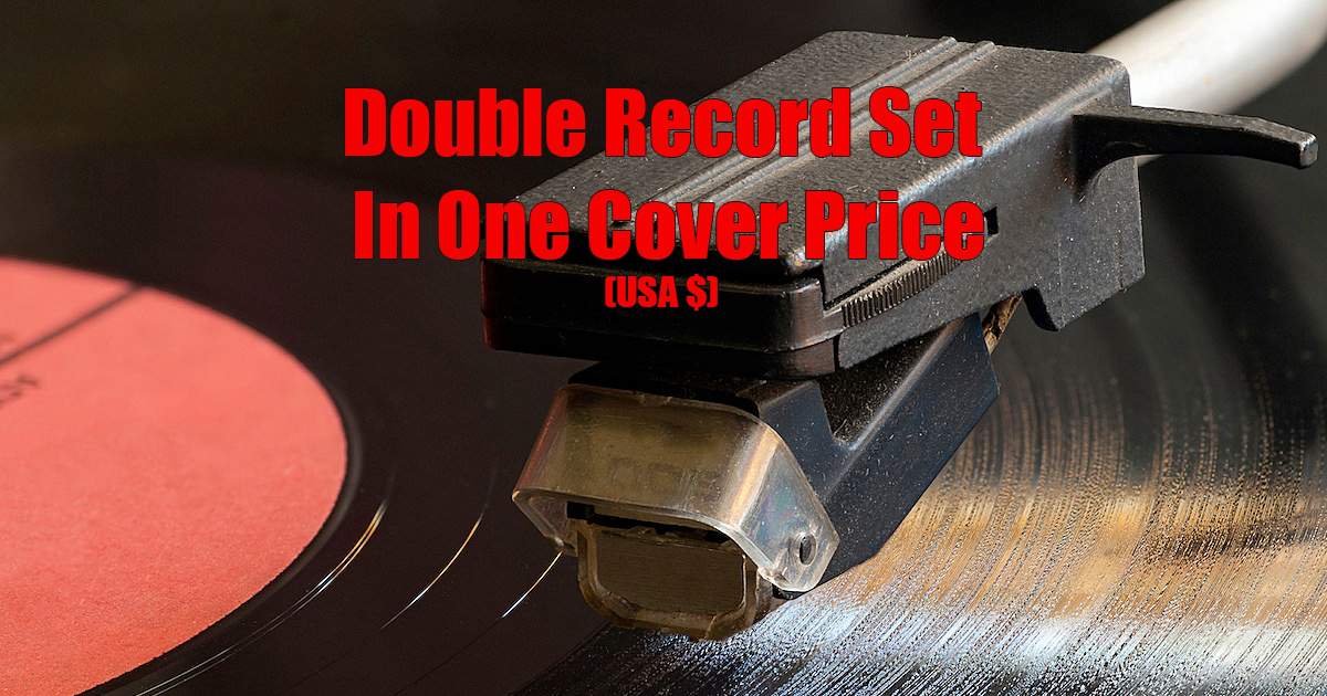 Double Record Set In One Cover USA Price